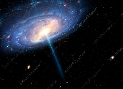 The Milky Way as a Quasar