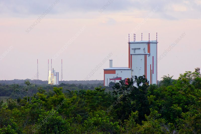 Ariane 5 launch site