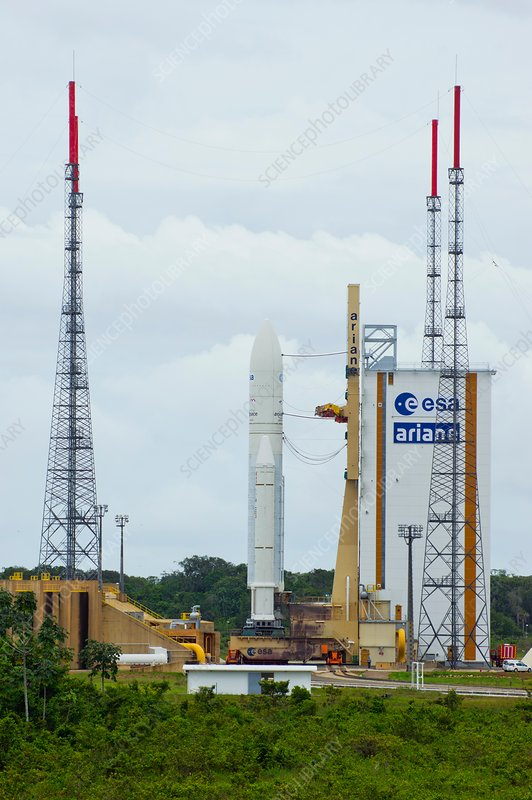 Ariane 5 launch pad, Guiana Space Centre