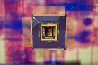 Satellite computer chip