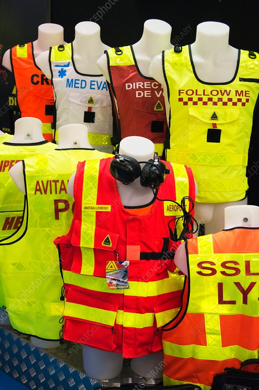 Aviation safety clothing