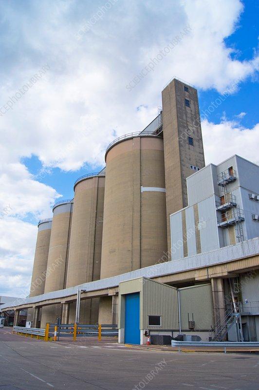 Sugar processing factory