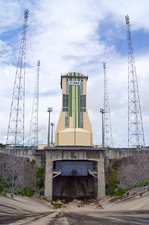 Soyuz launch pad at Guiana Space Centre