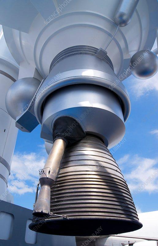 Ariane 5 rocket engine.