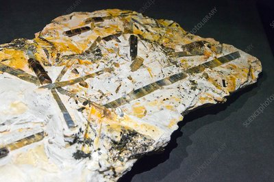 Kyanite and Staurolite crystals