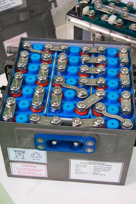 Aircraft battery