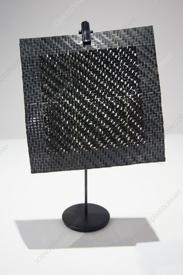Woven composite material