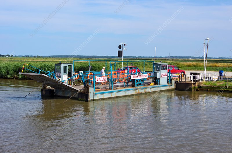 Reedham Ferry on the River Yare
