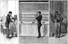 Ader Telephone System, 1881