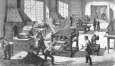 Electroplating Factory, 19th Century