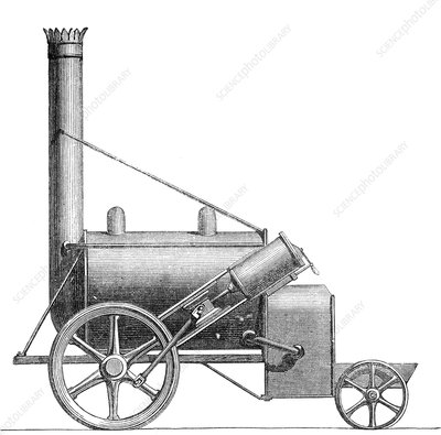 Trevithick and Vivian's Puffing Devil , 1801