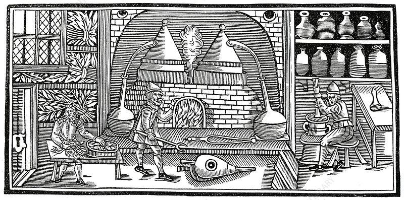 Medieval Distillation