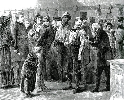 Vaccinating the Poor, Smallpox Epidemic, 1872