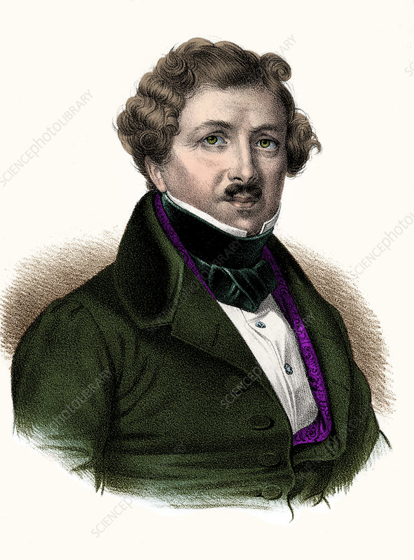 Louis Daguerre, French Inventor