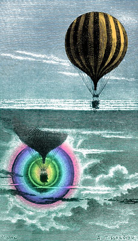 Optical Phenomena Observed February 16th, 1873