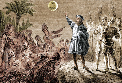 Columbus and the Lunar Eclipse, 1504