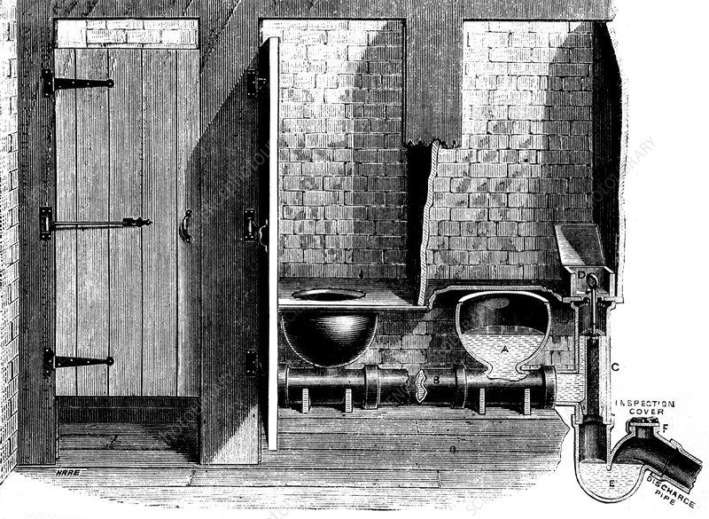 Public Restroom, 1882
