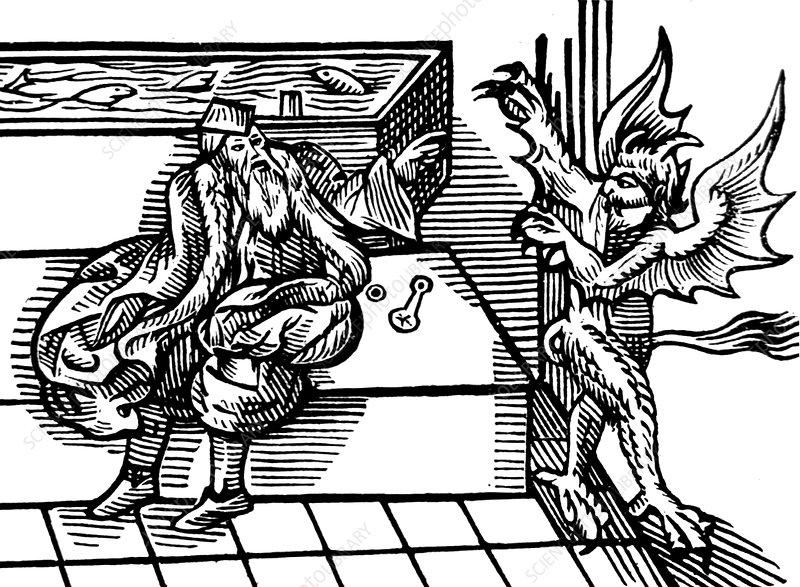 The Devil Hates Hygiene, Public Bathroom, 1590s