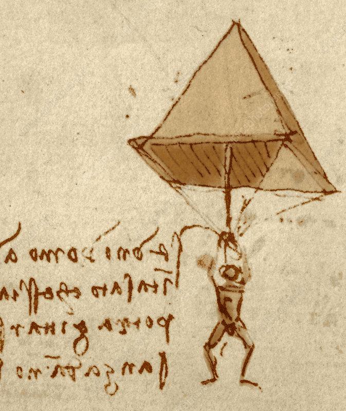 Невероятные изобретения Леонардо да Винчи: Парашют