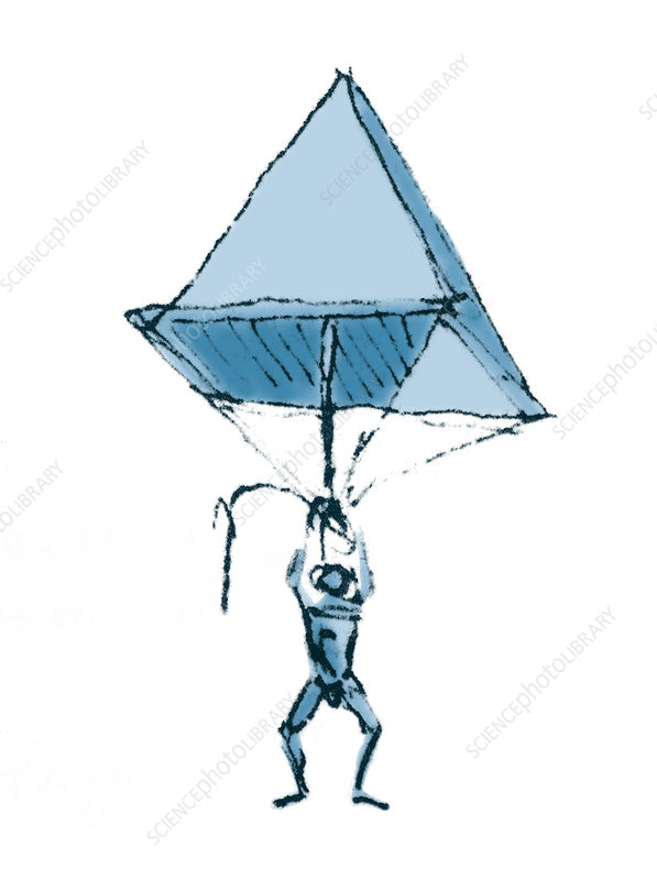 Da Vinci Parachute, 1485