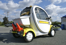 Small Electric Car for Traffic Enforcement