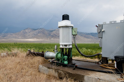 Irrigation Water Pump, Idaho, USA