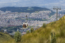 The Teleferico Cable Car, Ecuador