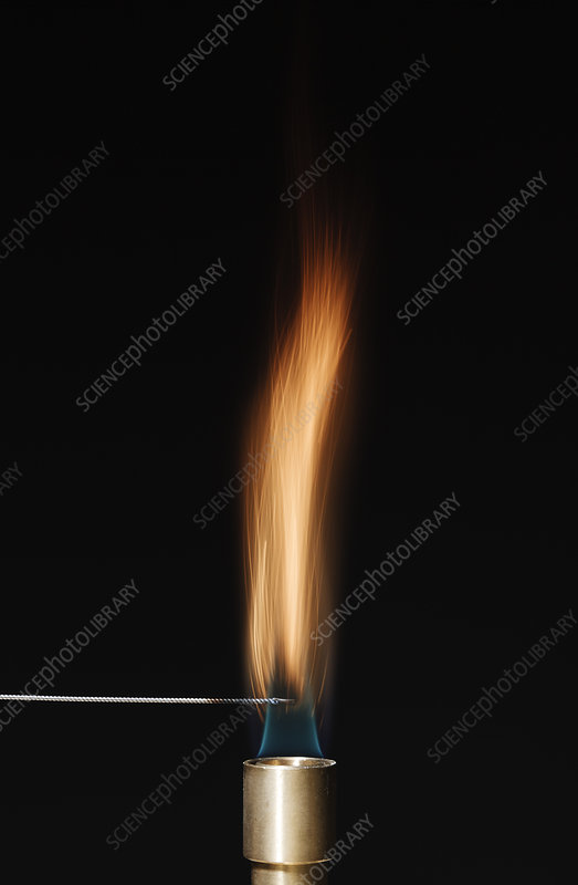 Cobalt flame test