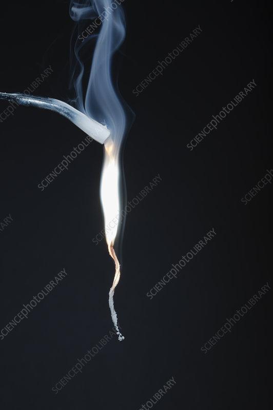 Magnesium burning, 5 of 6