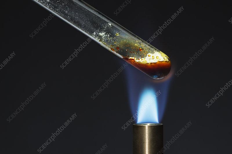 Melting sulphur, 3 of 4