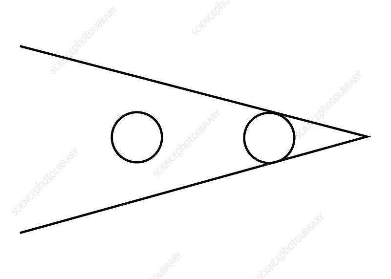 Optical Illusion, Ponzo, Illustration