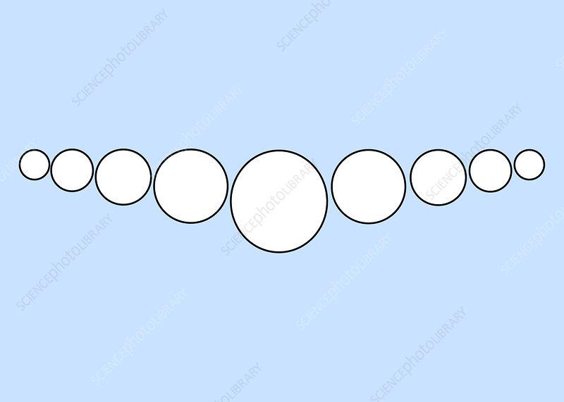 Optical Illusion, Konig Necklace, Illustration