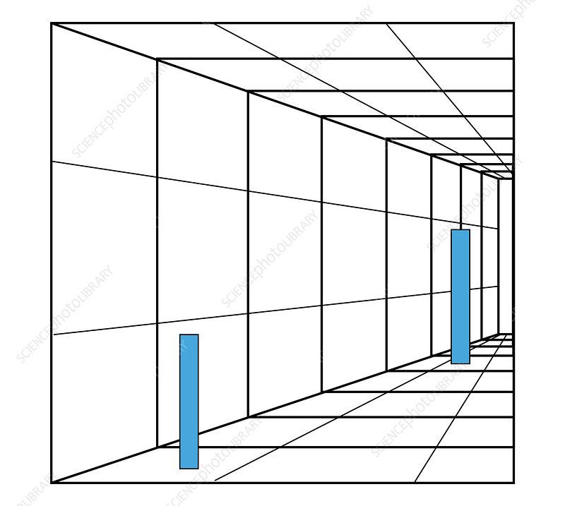 Optical Illusion. Perception, Illustration