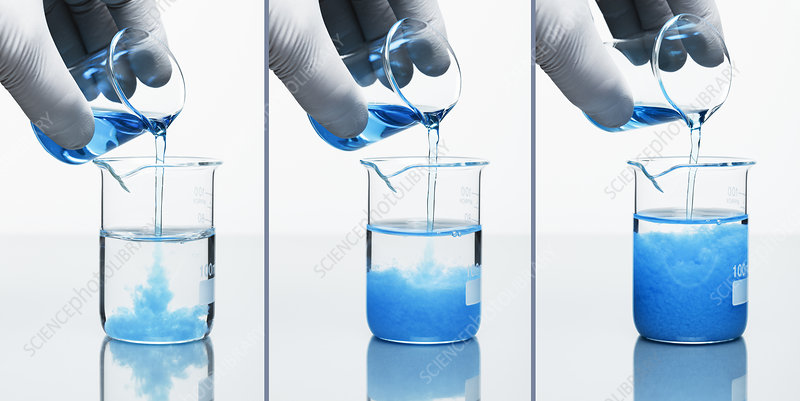 Copper Hydroxide Precipitate