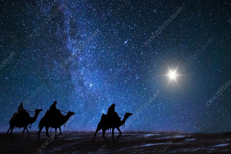 Traditional Star of Bethlehem