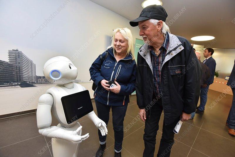 Pepper human interaction robot