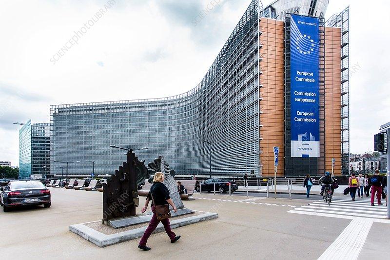 Berlaymont building, Brussels, Belgium