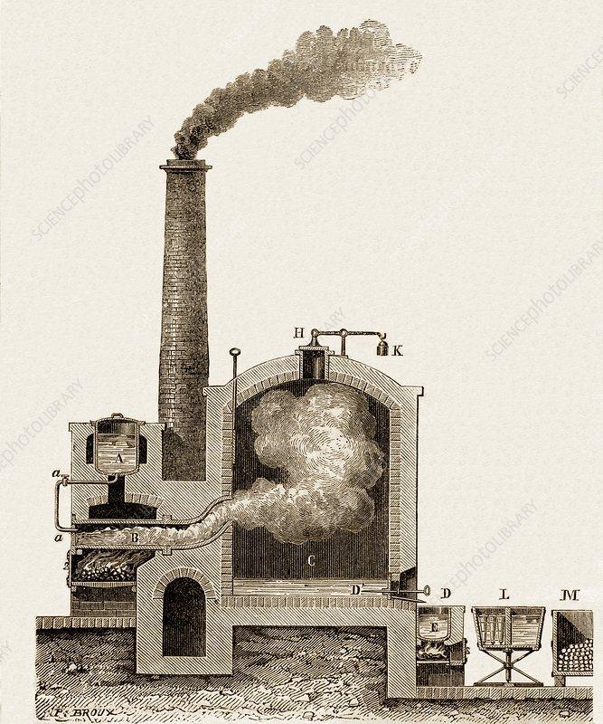 Sulphur Distillation