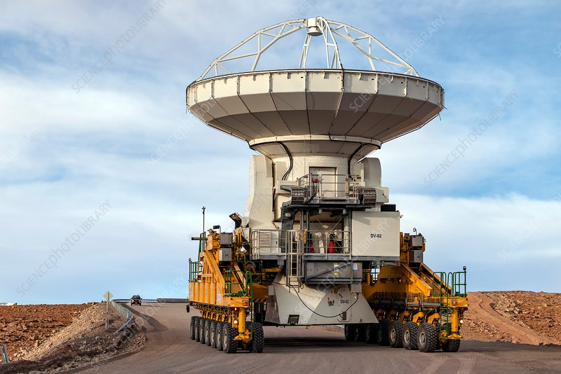 ALMA telescope transporter, Chile