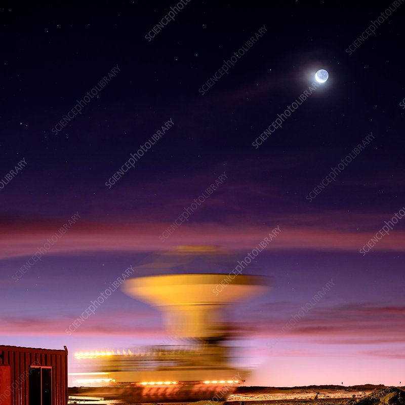 ALMA telescope transporter, Chile