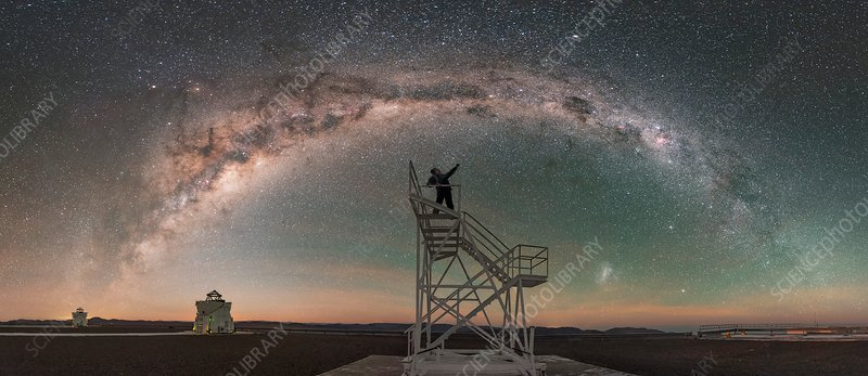 Stargazing, Chile