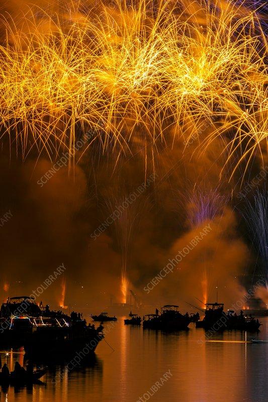 Independence Day celebrations, Boston, USA