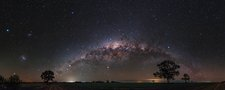 Milky Way over Australian outback