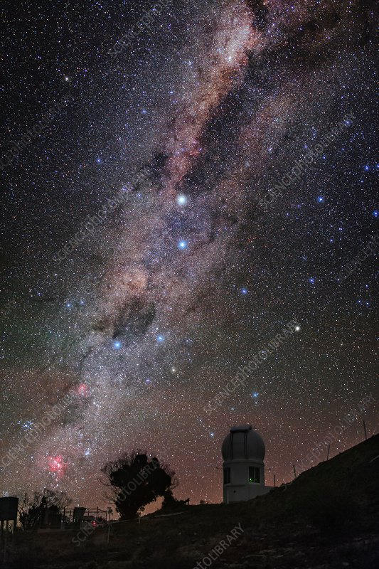 Milky Way over Sliding Spring Observatory