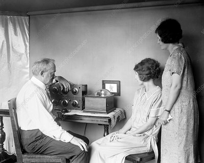 Early television technology, 1920s
