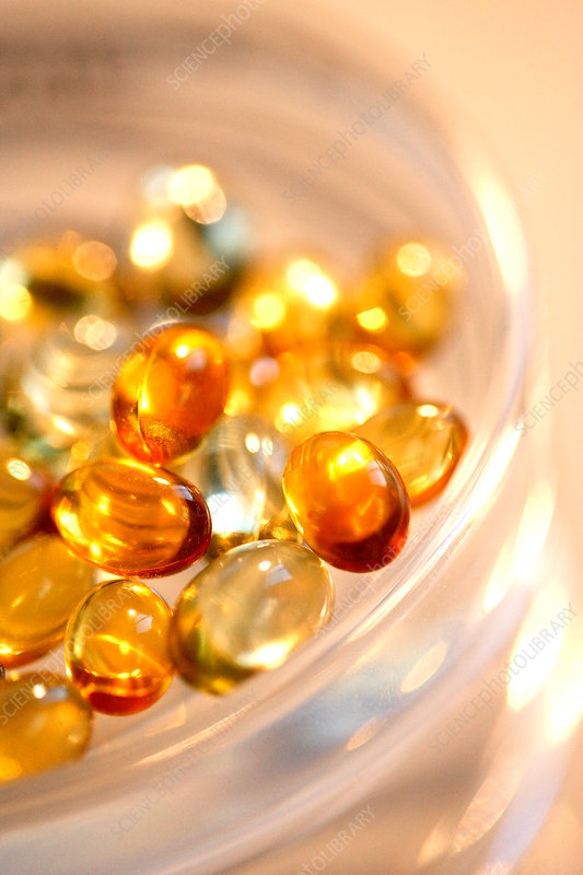 Fish oil capsules stock image c031 0955 science photo for How to take fish oil pills