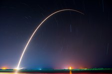 Falcon 9 rocket launch by SpaceX, 2016