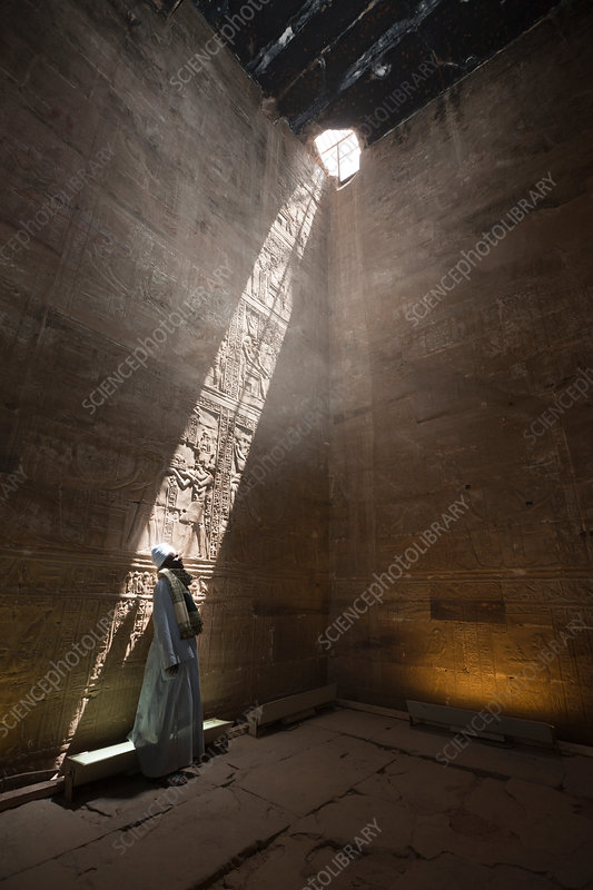 Impressions of Horus Temple at Edfu