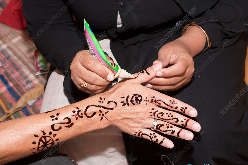 Henna Painting at Nubian Village