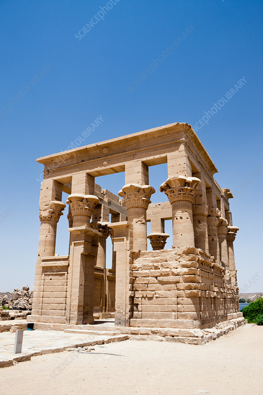 Temple of Isis on Philae Island